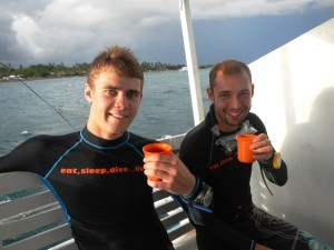 Divemaster Trainee Marc - Blog #5