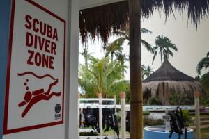 Scuba Diver Zone